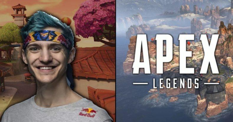 """Tyler """"Ninja"""" Blevins Apex Legends"""
