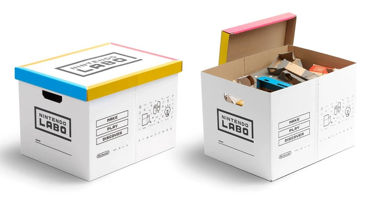Nintendo Labo cardboard box