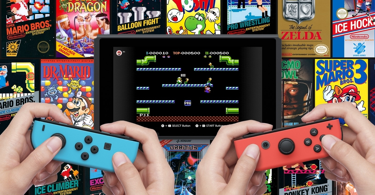 Nintndo Switch Online NES Games