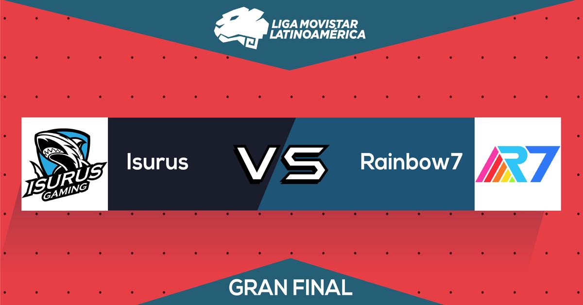 Rainbow7 VS Isurus Liga Movistar gran final