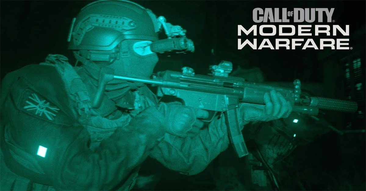 Revelado trailer y fecha de salida de Call of Duty: Modern Warfare