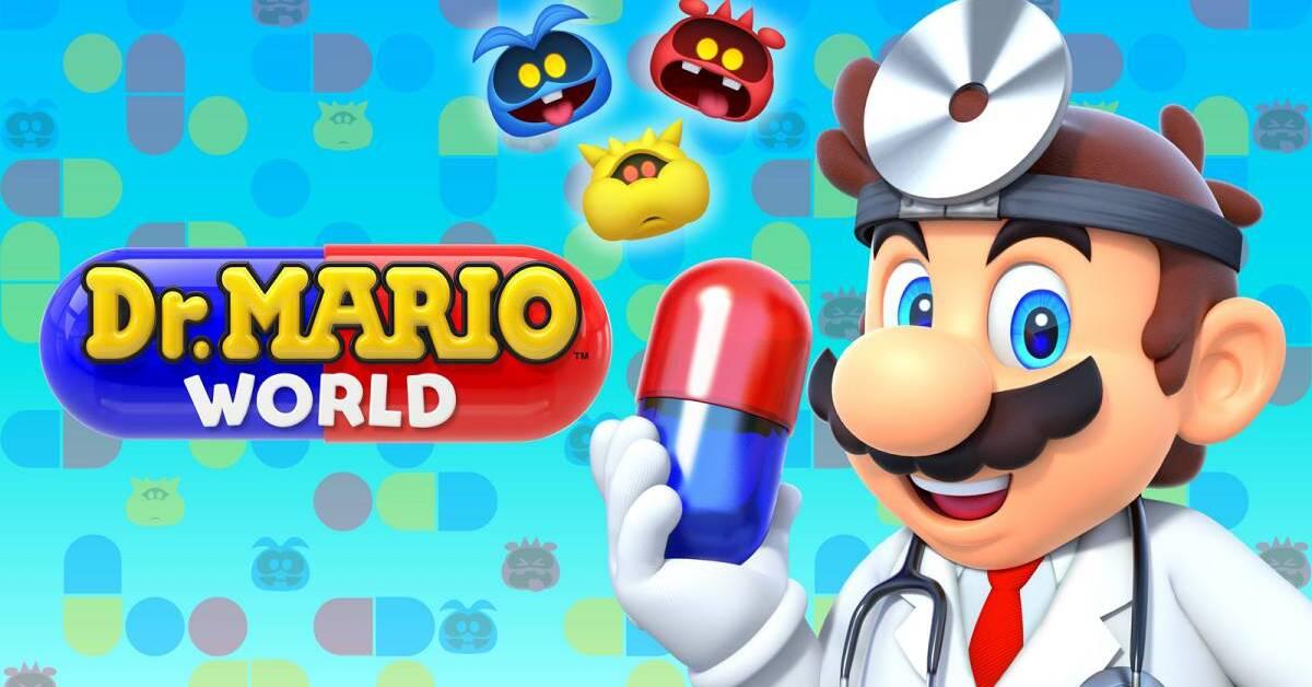 Dr. Mario World ya tiene fecha de salida
