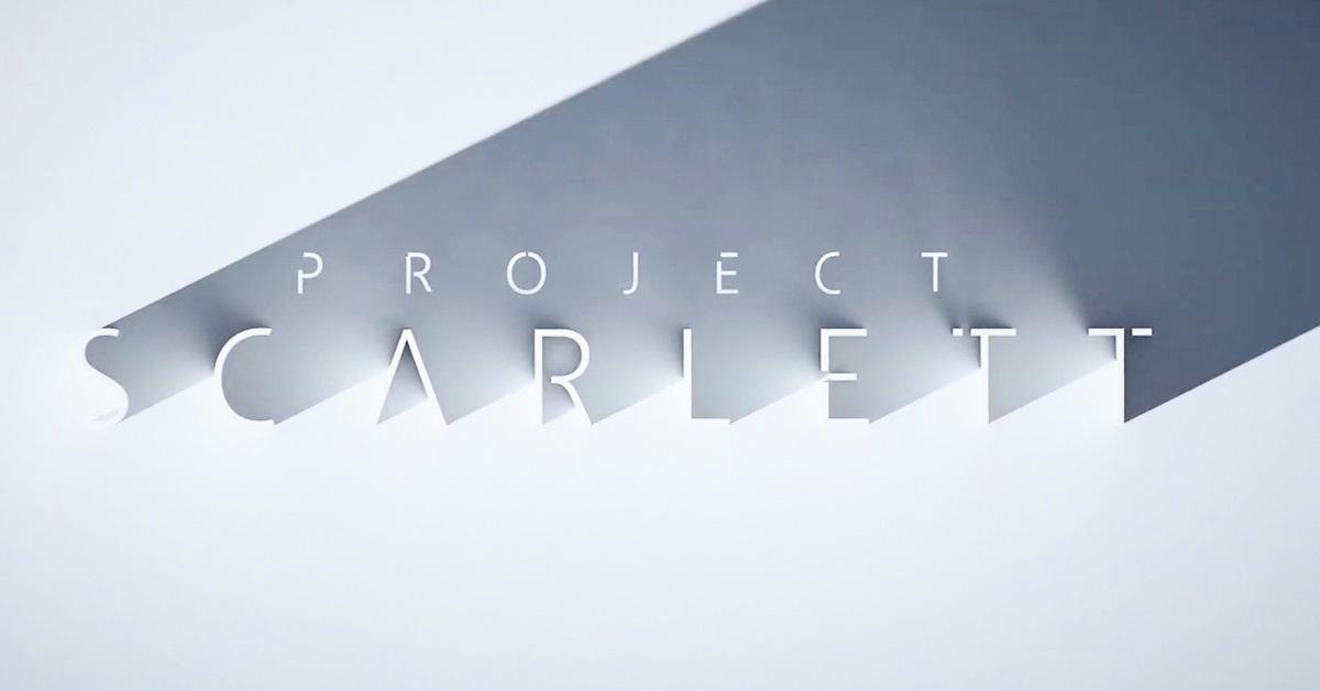 E3: Project Scarlett es el nombre de la apuesta de Microsoft para la siguiente generación
