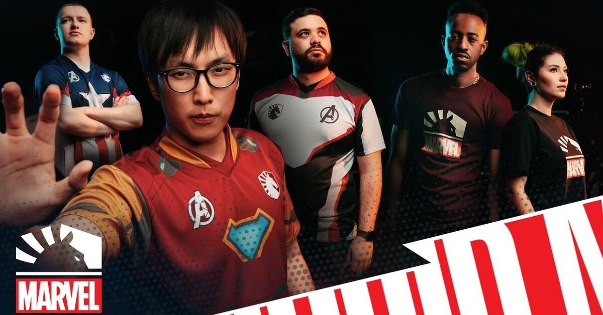 Team Liquid colabora con Marvel por un año