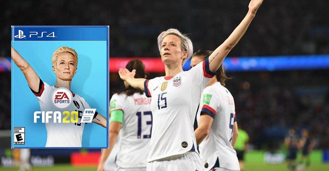 Se crea petición para que Megan Rapinoe sea la portada de FIFA 20