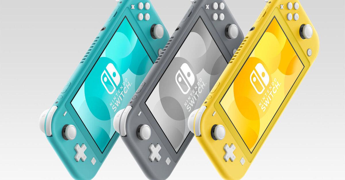 Nintendo revela oficialmente la versión Lite de la Switch