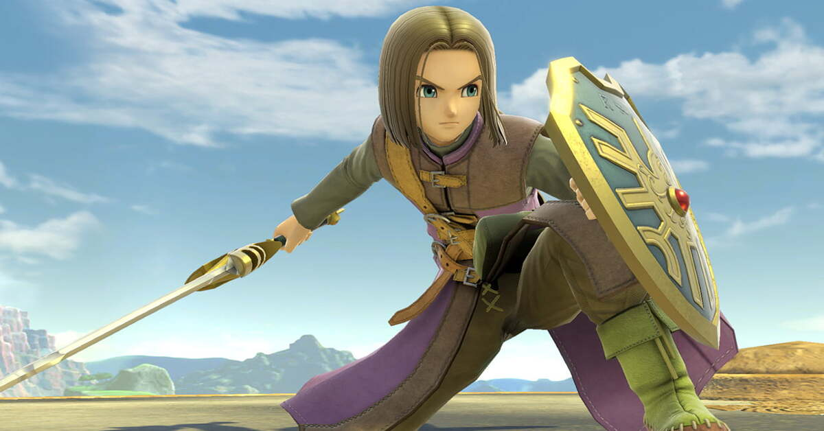 El héroe de Dragon Quest llega hoy a Super Smash Bros. Ultimate