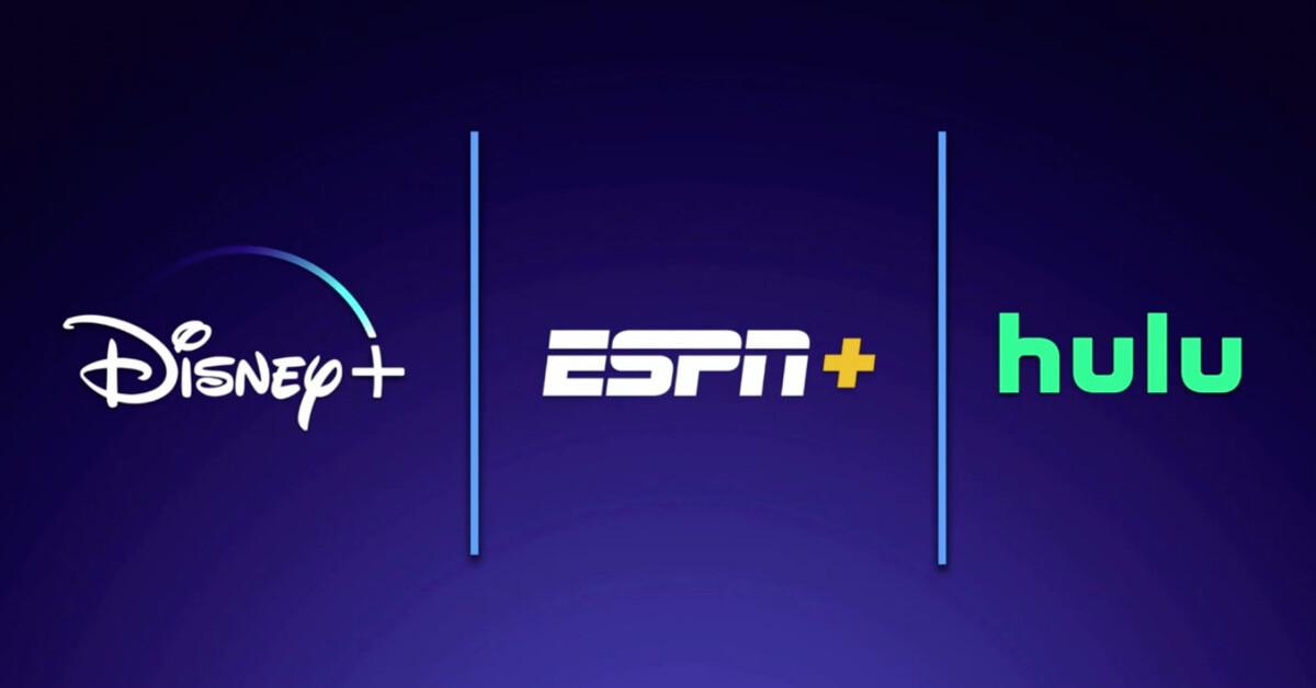 Disney+ estará disponible junto a ESPN+ y Hulu por $12.99
