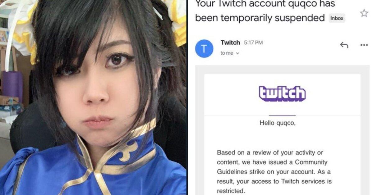 Banean de Twitch a una streamer por vestir un cosplay de Chun-Li