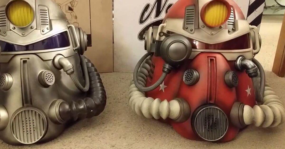 Los fabricantes del casco de Fallout 76 lo están retirando por riesgo de moho
