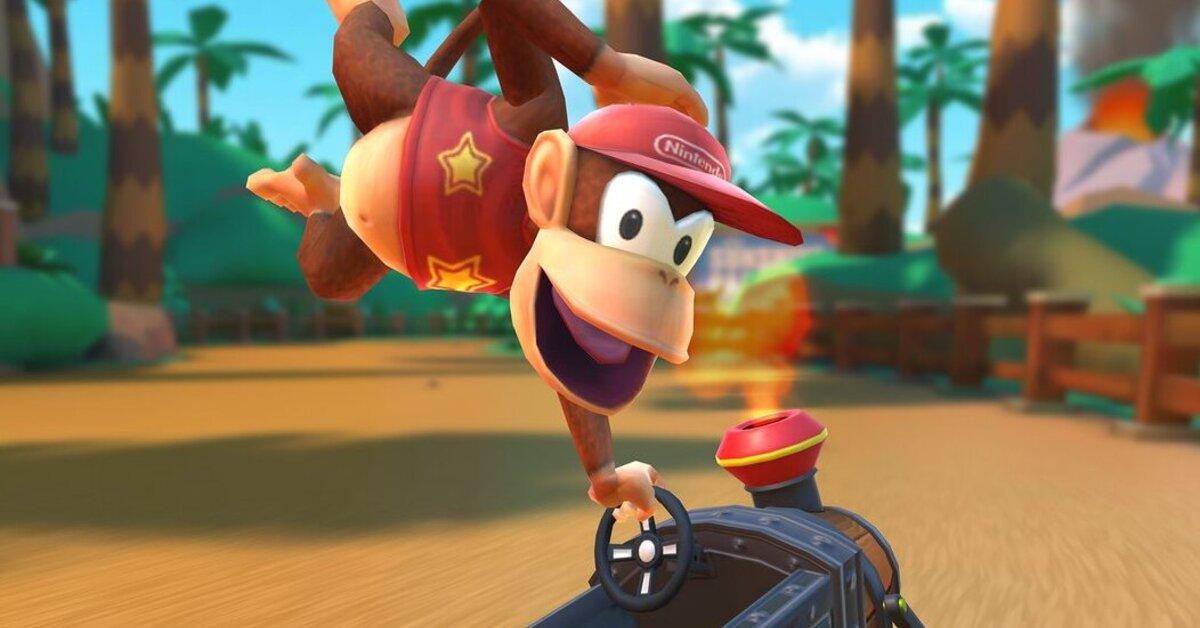 El pack de Diddy Kong en Mario Kart Tour cuesta casi lo mismo que Mario Kart 8 Deluxe