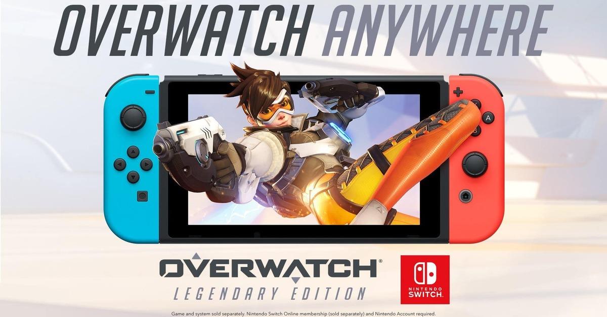 Blizzard cancela el evento de lanzamiento de Overwatch en Nintendo Switch