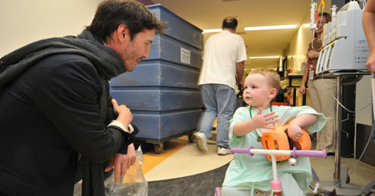 Keanu Reeves ha estado financiando en secreto a una fundación contra el cáncer infantil