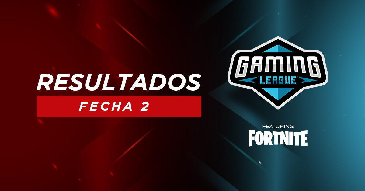 Resumen de la jornada 2 de Gaming League ft. Fortnite
