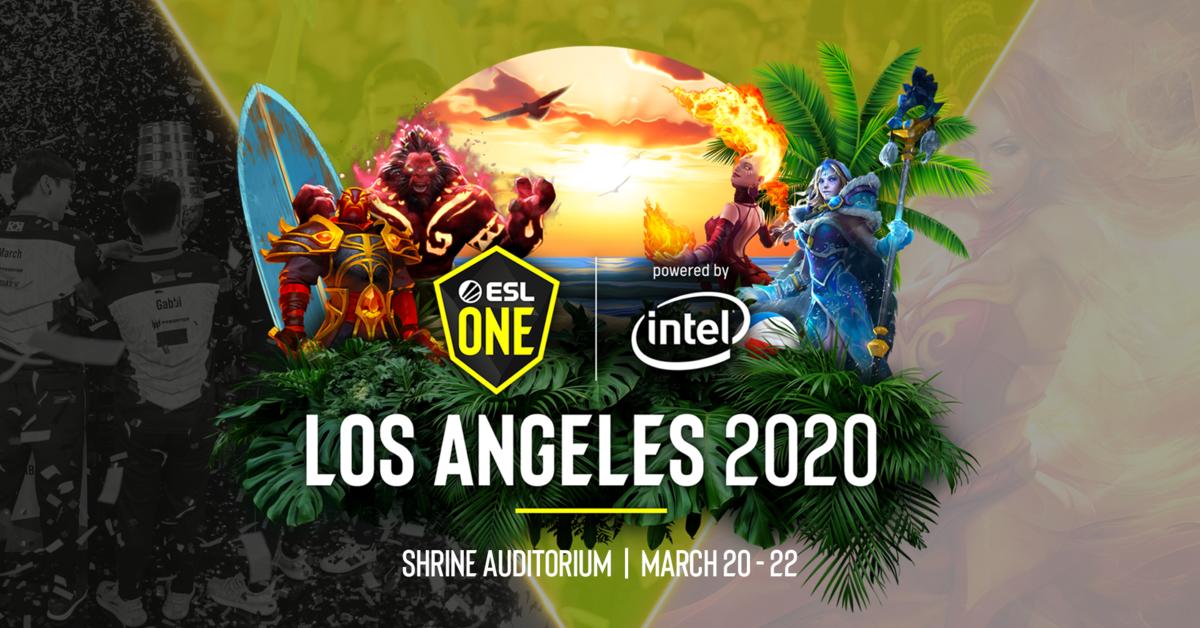 ESL One trae a Los Ángeles el primer Major de Dota 2 del próximo año