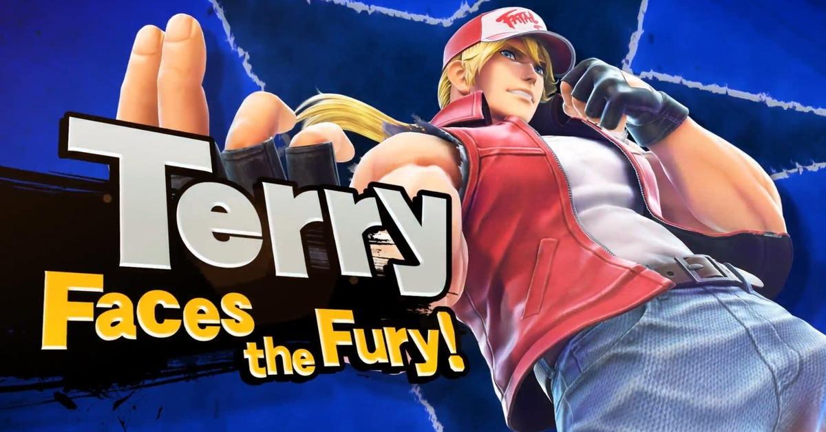 Terry Bogard y SNK hacen su debut oficialmente en Super Smash Bros. Ultimate