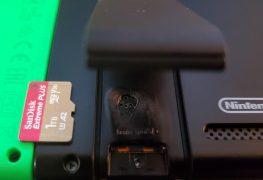 Micro SD Molten Nintendo Switch