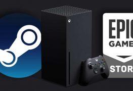Xbox Series X Epic Games Steam