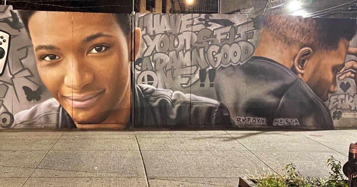 El mural en honor al recordado Etika tiene ahora una poképarada