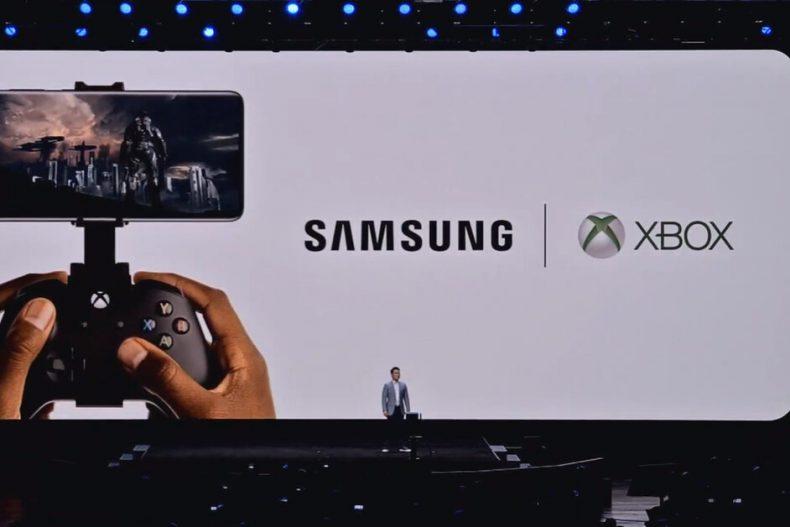 Xbox Samsung Galaxy S20 Partnership