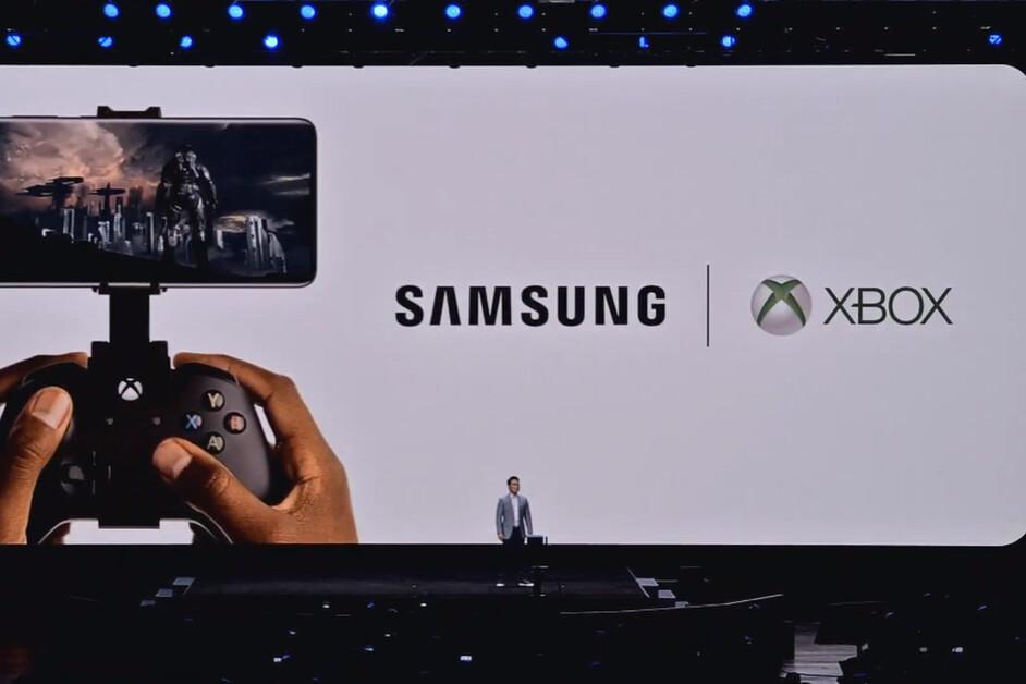 Samsung presenta una alianza con Xbox junto con el nuevo Galaxy S20