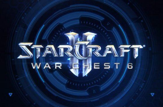 Ya está disponible el War Chest 6 para StarCraft II