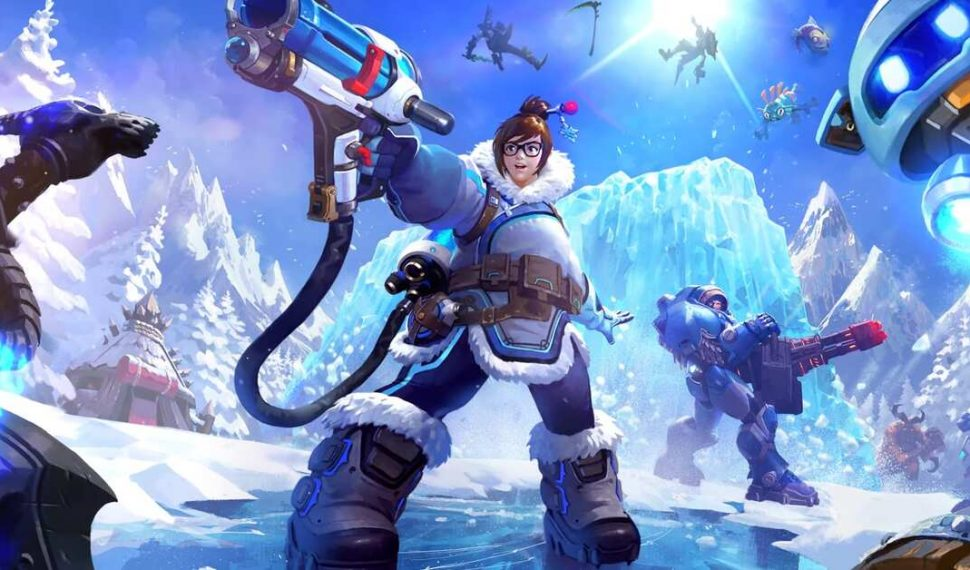Mei Overwatch Heroes of The Storm