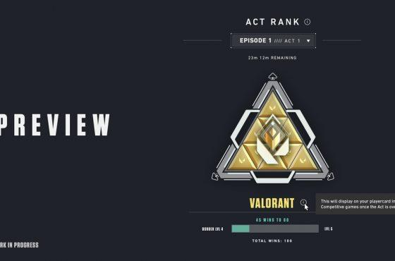 Valorant empleará un nuevo sistema de rango en el Acto II