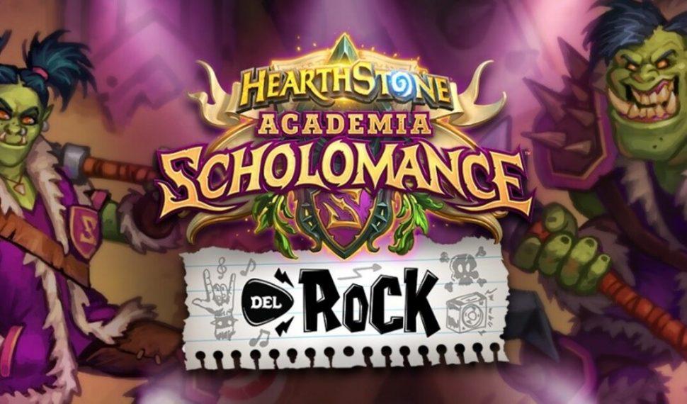 Hearthstone: Se acaba el plazo para participar en Academia Scholomance del Rock