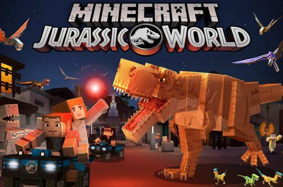 Jurassic World llega a Minecraft a través de DLC