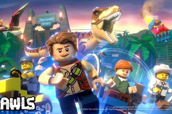 Lego Brawls recibe contenido de Jurassic World con su última actualización