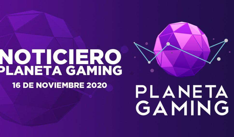 Noticiero Planeta Gaming – 16 de noviembre