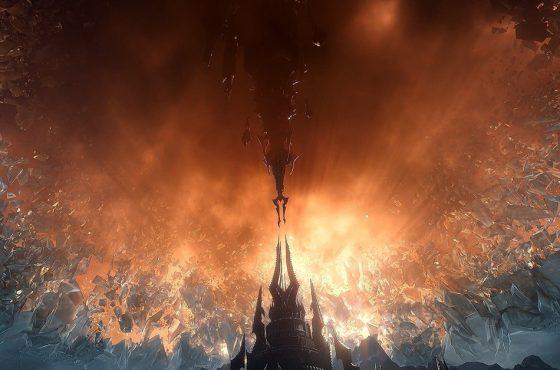 Cruza el velo a Shadowlands. Nueva expansión de World of Warcraft® disponible