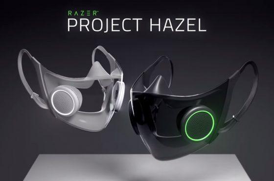 Razer planea lanzar una mascarilla inteligente y reutilizable que fue presentada durante el CES