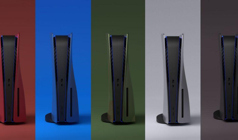 La marca de las carcasas de colores de PlayStation 5 regresa al mercado con nuevo nombre y una patente