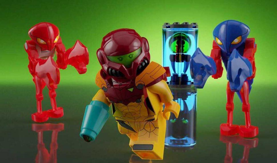 Un set de Lego creado por un fan de Metroid está a punto de volverse oficial y salir a la venta