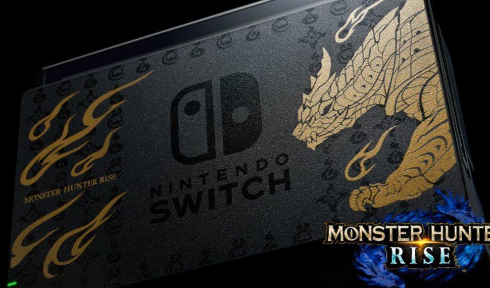 Se confirma para el resto del mundo la edición especial de Nintendo Switch de Monster Hunter Rise