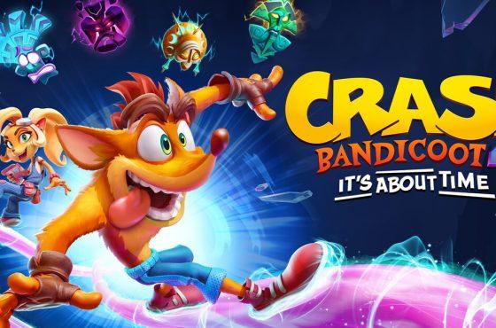 Crash Bandicoot 4 llegará pronto a Switch, PC, Series X y PS5