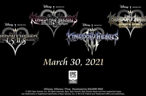 Kingdom Hearts estará disponible por primera vez en PC a través de Epic Games Store