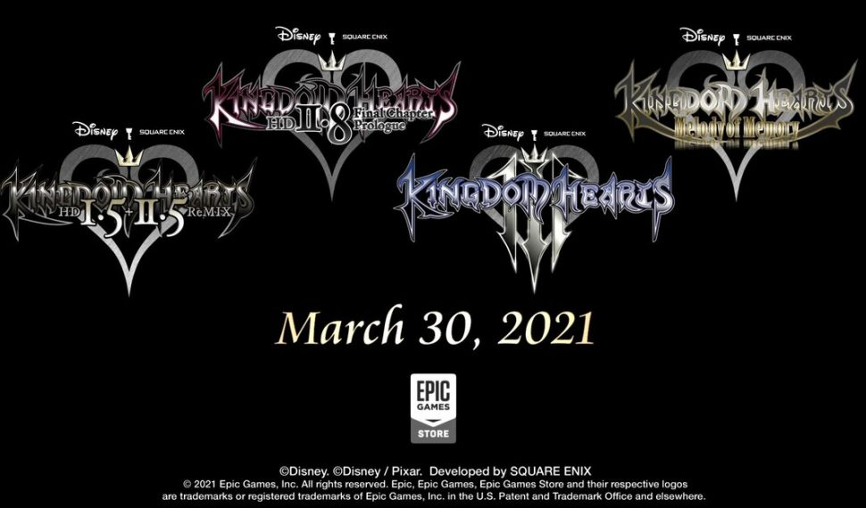 Kingdom Hearts Epic Games
