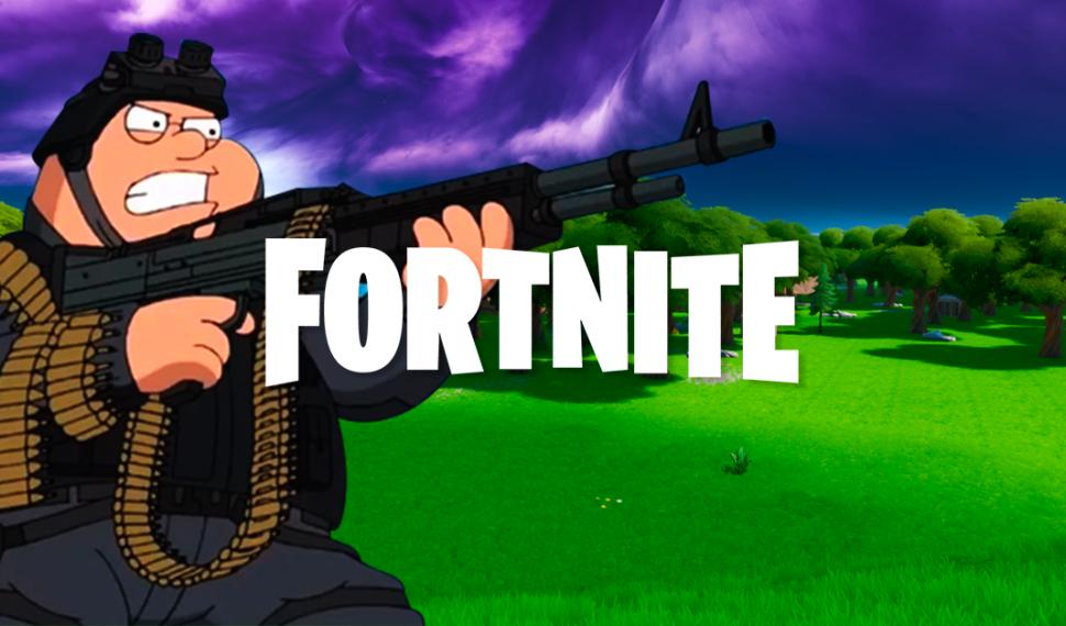 Se filtra material de una posible colaboración de Family Guy y Fortnite