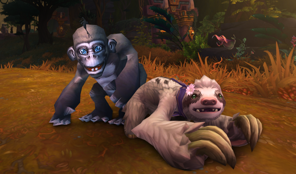 El nuevo programa de caridad de mascotas de World of Warcraft ya está disponible