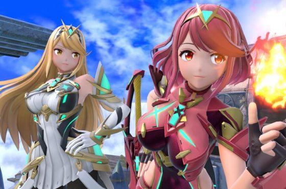 Pyra y Mythra traen de vuelta los personajes dobles a Smash