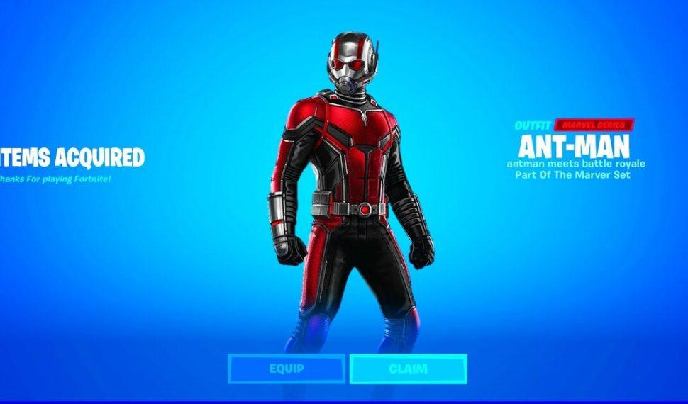 Ant-Man podría llegar a Fortnite para el cierre de la Temporada 5 del Capítulo 2
