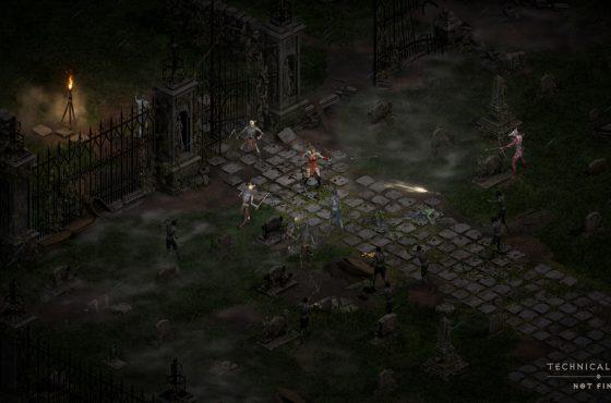 La alfa técnica para el modo de un jugador de Diablo II Resurrected para PC llega este fin de semana