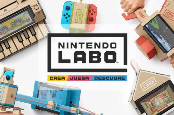 Nintendo cierra sin avisar la web de Nintendo Labo para Norteamérica