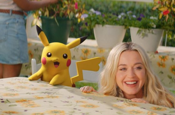 Se estrena oficialmente el single de Katy Perry por los 25 años de Pokémon